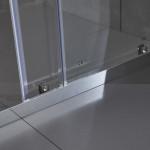 Porta doccia Piave-1 con anta scorrevole cristallo trasparente 6mm anticalcare 195cm