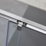 Porta doccia Piave-2 con anta scorrevole cristallo trasparente 6mm anticalcare 190cm