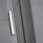 Porta doccia battente Piave-7 cristallo trasparente 6mm anticalcare 195cm