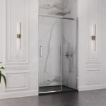 Porta doccia Resia altezza 200cm anta scorrevole cristallo trasparente 8mm anticalcare