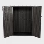 Armadio da esterno in polietilene 136x70x172h