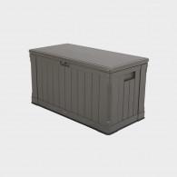 Baule da esterno resistente in polietilene SMALL 128x64x67h