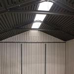 Casetta da giardino Lifetime in polietilene 60190 Torino2 204x204x227h