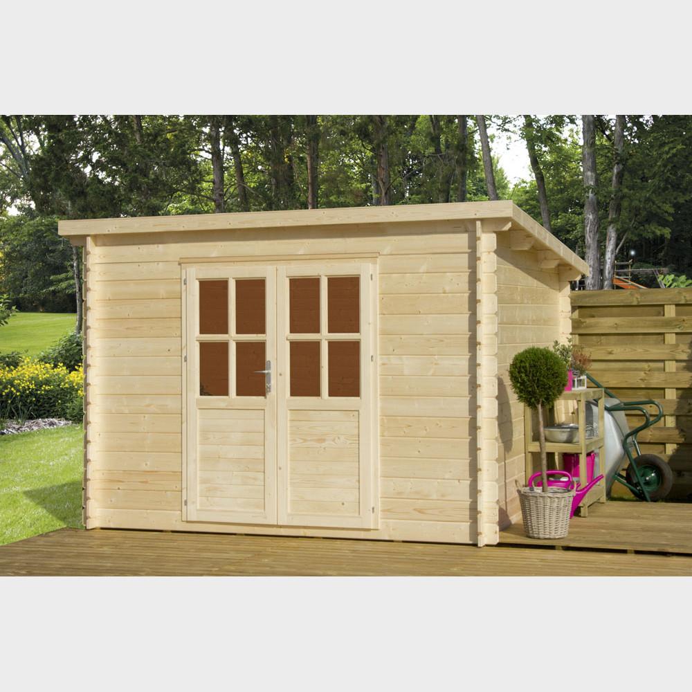 Casetta in legno da giardino TOP B cm 318x318x225h