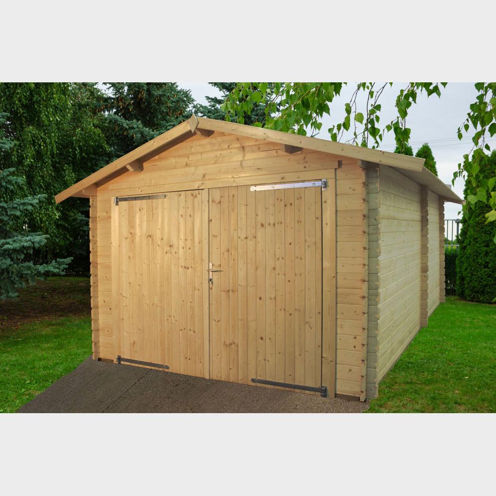 Garage in legno Eco cm 318x558 Gartenpro