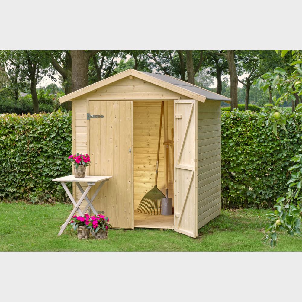 Casetta in legno da giardino narciso for Arredo per giardino in legno