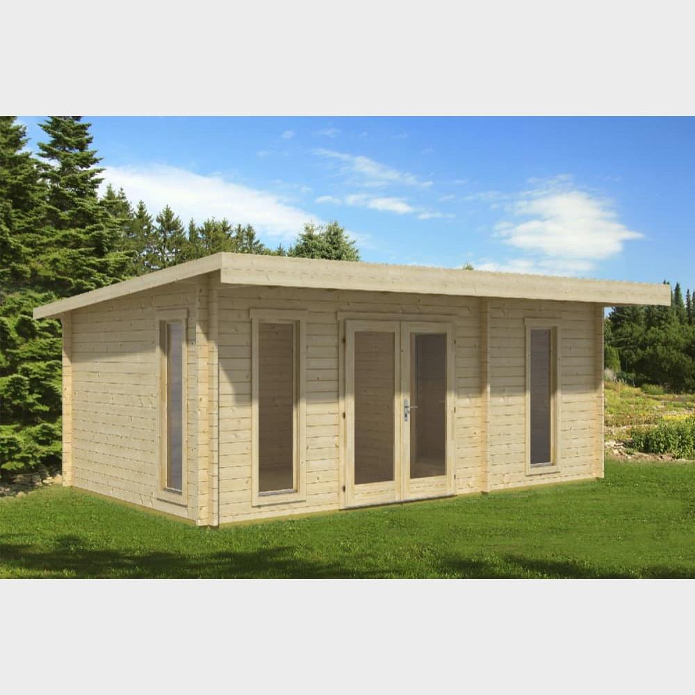 """Casetta in legno da giardino """"Barbados 4"""" 587X377 cm"""