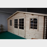 Casetta in legno da giardino Camilla cm. 500X500