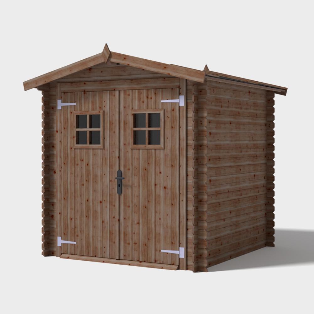 Casetta in legno da giardino Perla 200x200x212h cm