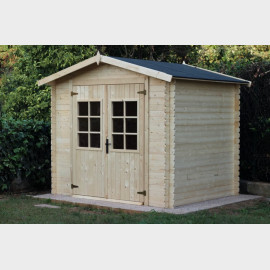 Casetta in legno da giardino Sara 246x200x220h cm