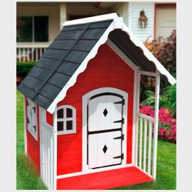 Casetta gioco per bambini da esterno Anny cm. 120X130X140h