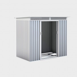 Casetta in metallo Silver Deluxe 277x206x187