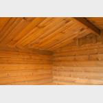 Casetta in legno da giardino Perla cm 200x200x212h