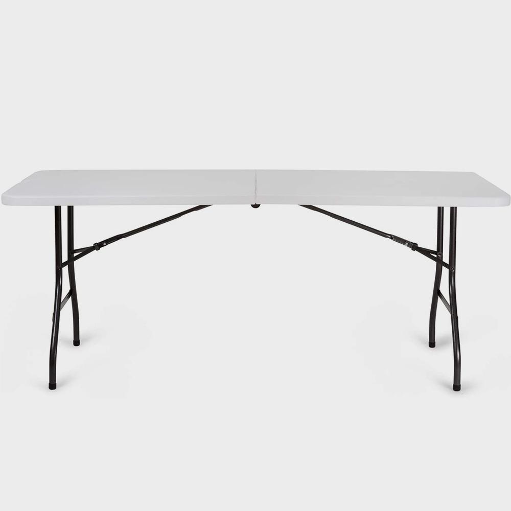 Tavolo pieghevole da giardino in resina cm. 183X76X74