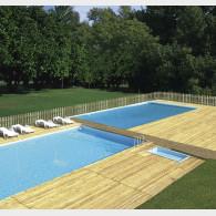 Pavimentazione per esterno in legno altezza cm. 5,7