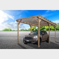 Pergola copertura posti auto cm 300X500 - Carport in legno non coperto