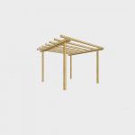 Pergola in legno 240X240