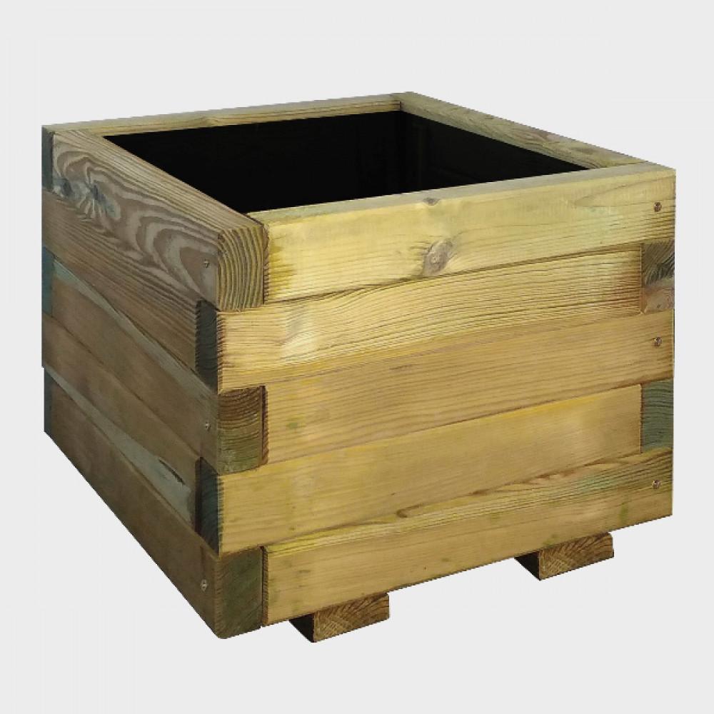 Fioriera in legno 40x40x32,5h