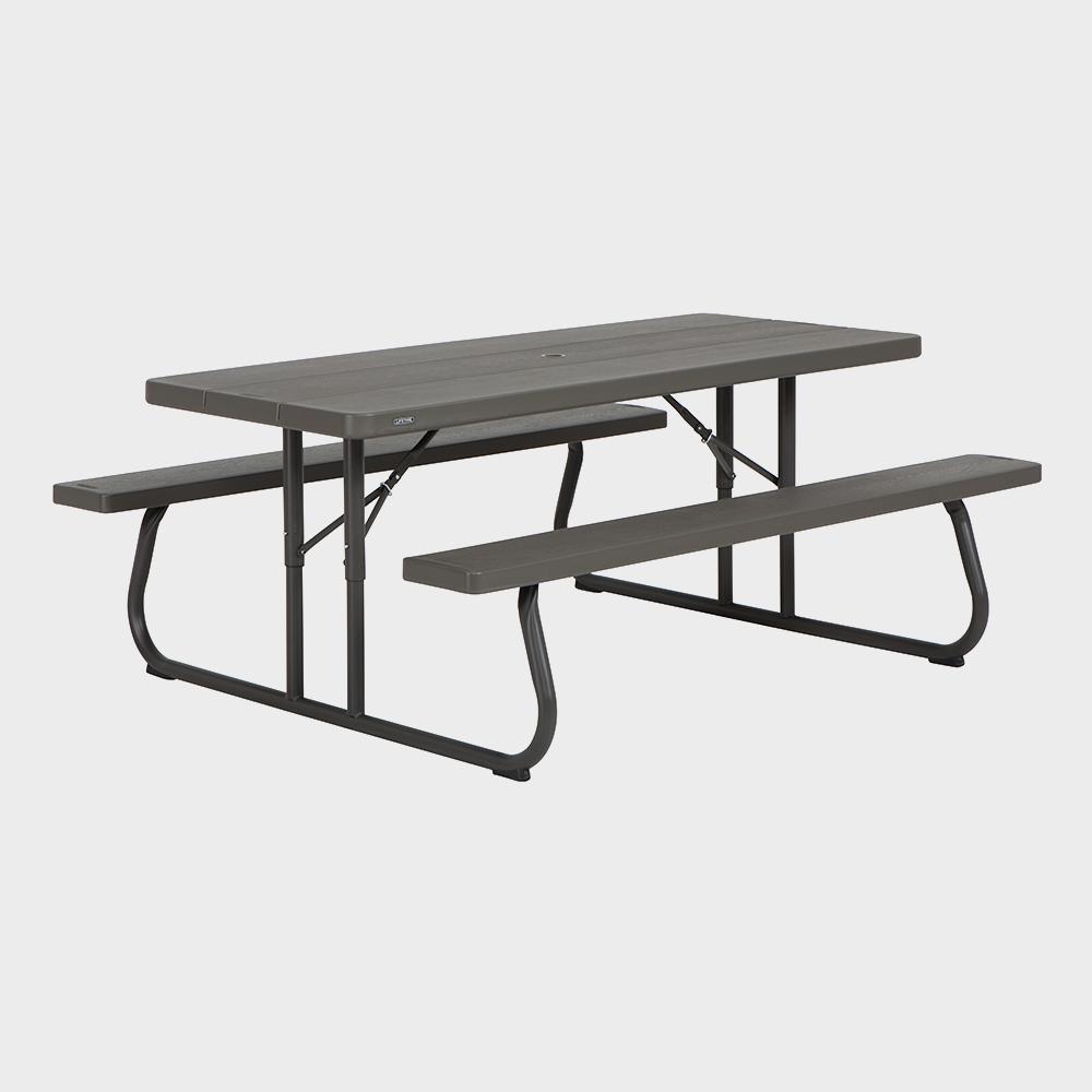 Tavolo da giardino picnic con panchine 183x145x74h Lifetime