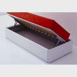 Divano letto con box contenitore 90x202x90h Mogol