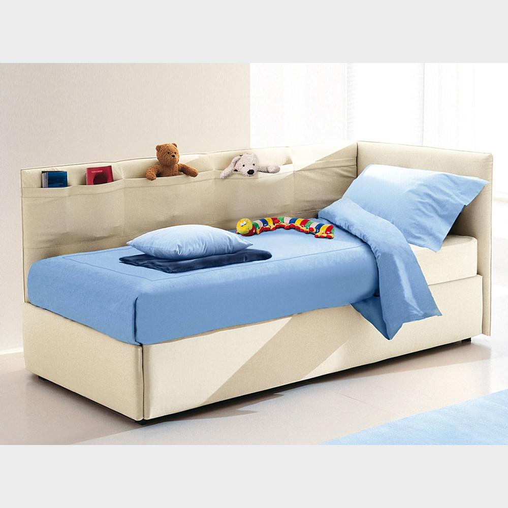 Divano letto con box contenitore 90x202x90h Noemi