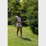 Tubo da giardino estensibile in tessuto 15 metri antipiega antitorsione kit Baggy Hose