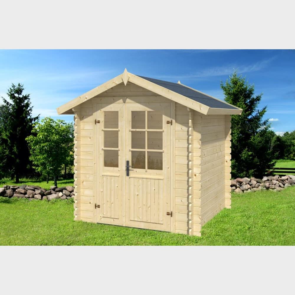 Casetta in legno da giardino Luisa cm 208X208x222h