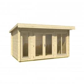 Casetta in legno da giardino Dorset cm 408x268x234h (Blockhouse)