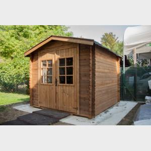 Casetta da giardino in legno Sandra 246X200x220h