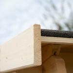 Casetta in legno da giardino Valencia 400x400 cm.