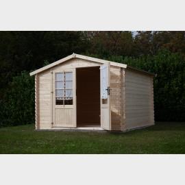 Casetta da giardino in legno SIVIGLIA cm 250X250