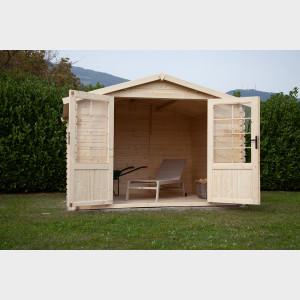 Casetta da giardino in legno Kelly cm. 300X200