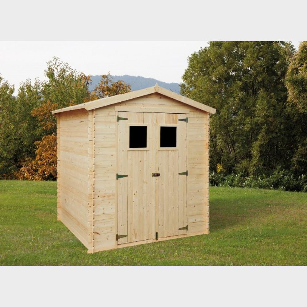 Casetta in legno da giardino Giulia cm 200X200