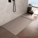 Piatto Doccia Mineral Marmo Griglia Laterale Sabbia | Prestige
