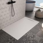 Piatto Doccia Bianco Effetto Pietra Design | Vincent