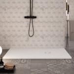 Piatto Doccia Bianco mineral marmo slim | Passion