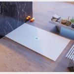 Piatto doccia in mineral marmo foro central Bianco Chic