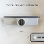 Piatto Doccia Grigio Chiaro Effetto Pietra Design | Vincent
