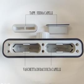 Piatto Doccia Antracite Effetto Pietra Design | Vincent