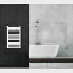 Radiatore Termoarredo scaldasalviette 80x50 bianco interasse 45 cm