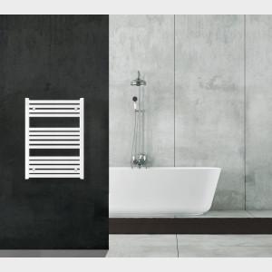 Radiatore Termoarredo scaldasalviette 80x60 bianco interasse 55 cm