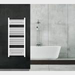 Radiatore Termoarredo scaldasalviette 120x60 bianco interasse 55 cm