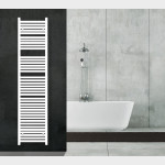 Radiatore Termoarredo scaldasalviette 180x45 bianco interasse 40 cm