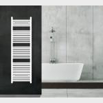 Radiatore Termoarredo scaldasalviette 150x50 bianco interasse 45 cm