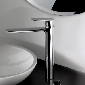 Rubinetto ad lavabo alto a canna alta cromato | Funky