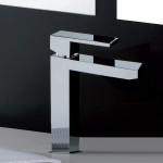Miscelatore lavabo 1 leva quadrato cromato | Manhattan