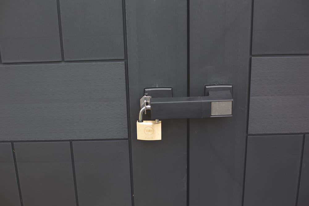 Casetta in resina porta attrezzi Oakland 1175